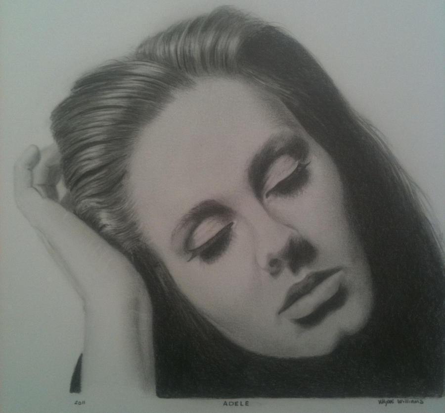 Adele by gmartstudio