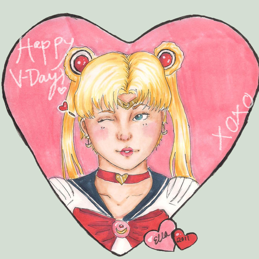 ... Sailor Moon Valentine By Morbidly Funny