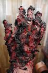 A handful of hot tar
