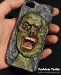 Zombie iPhone cover - 3D
