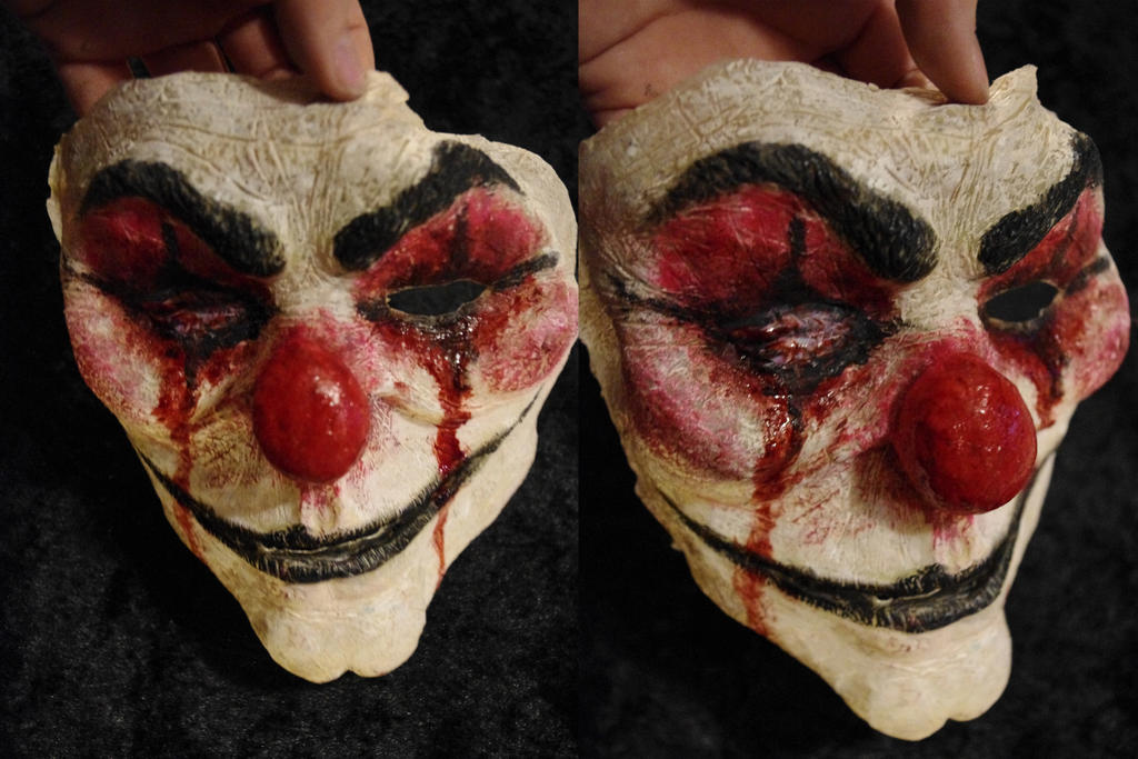 Evil Clown Mask by SometimesAliceFX