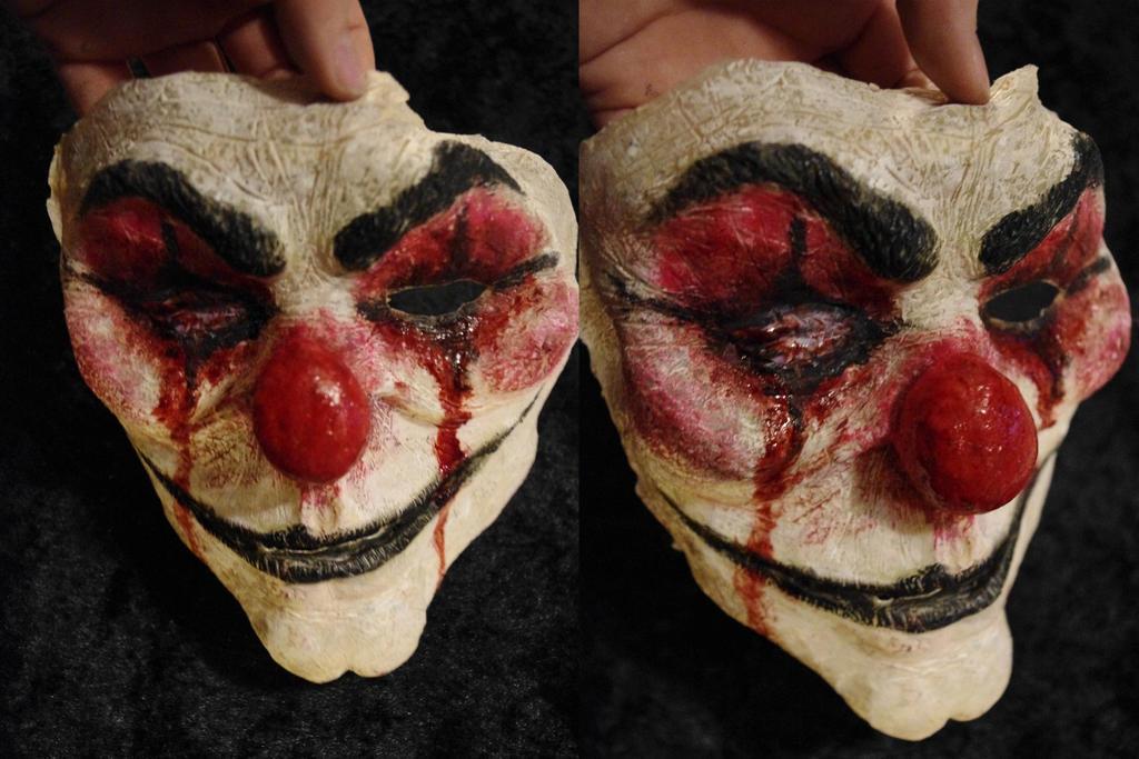 Evil Clown Mask by SometimesAliceFX