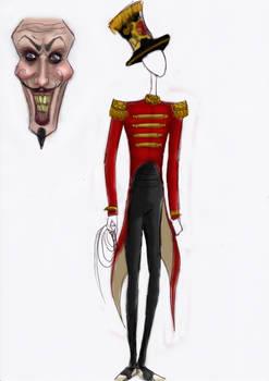 Ringmaster character sketch