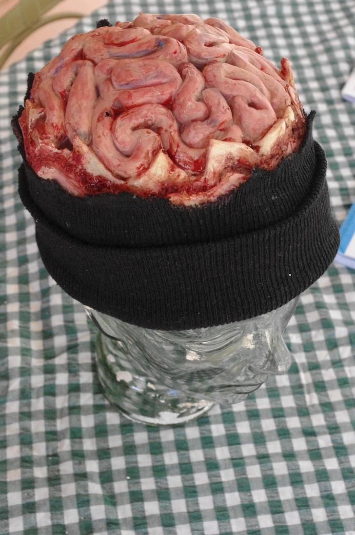 Brain Beanie by SometimesAliceFX