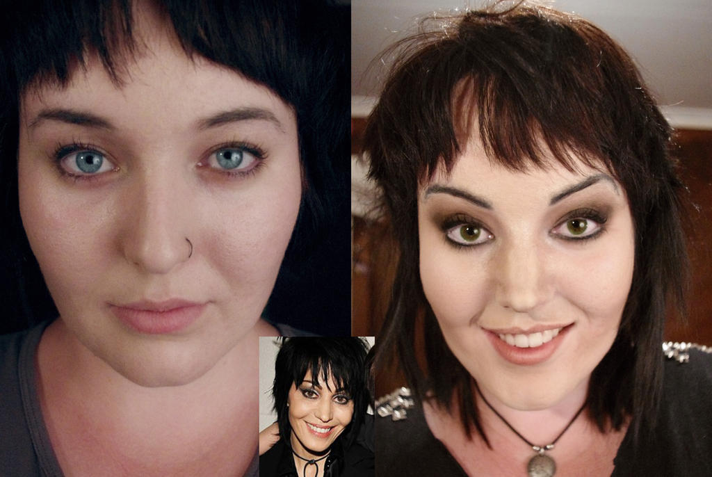 Joan Jett Make Up Transformation by SometimesAliceFX