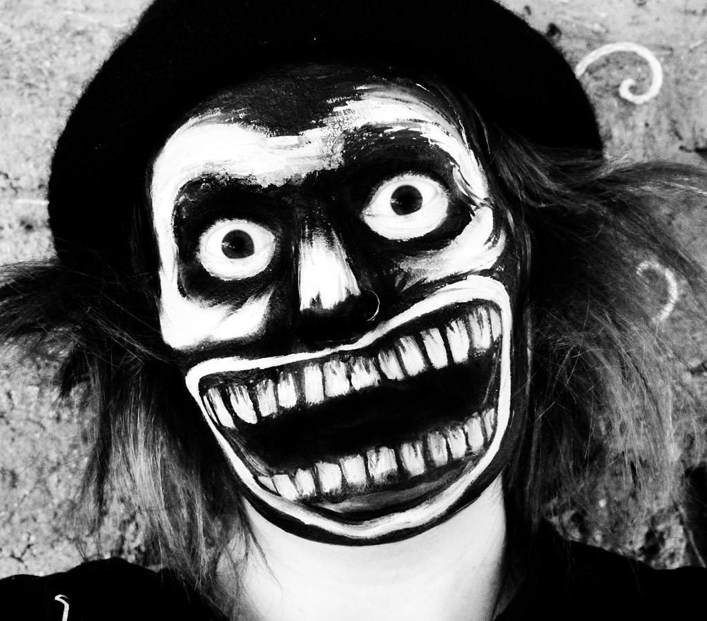 Mr Babadook Face Paint by SometimesAliceFX on DeviantArt