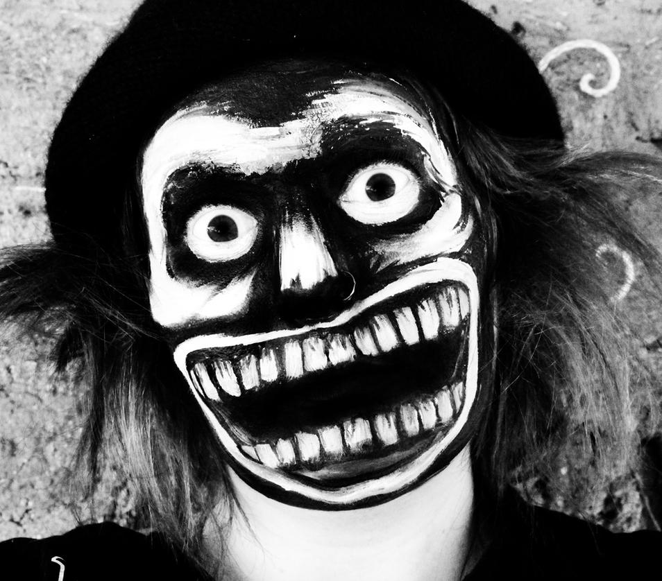Mr Babadook Face Paint by SometimesAliceFX