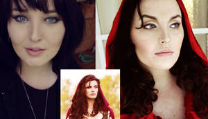 Red Riding Hood/Ruby Make-Up