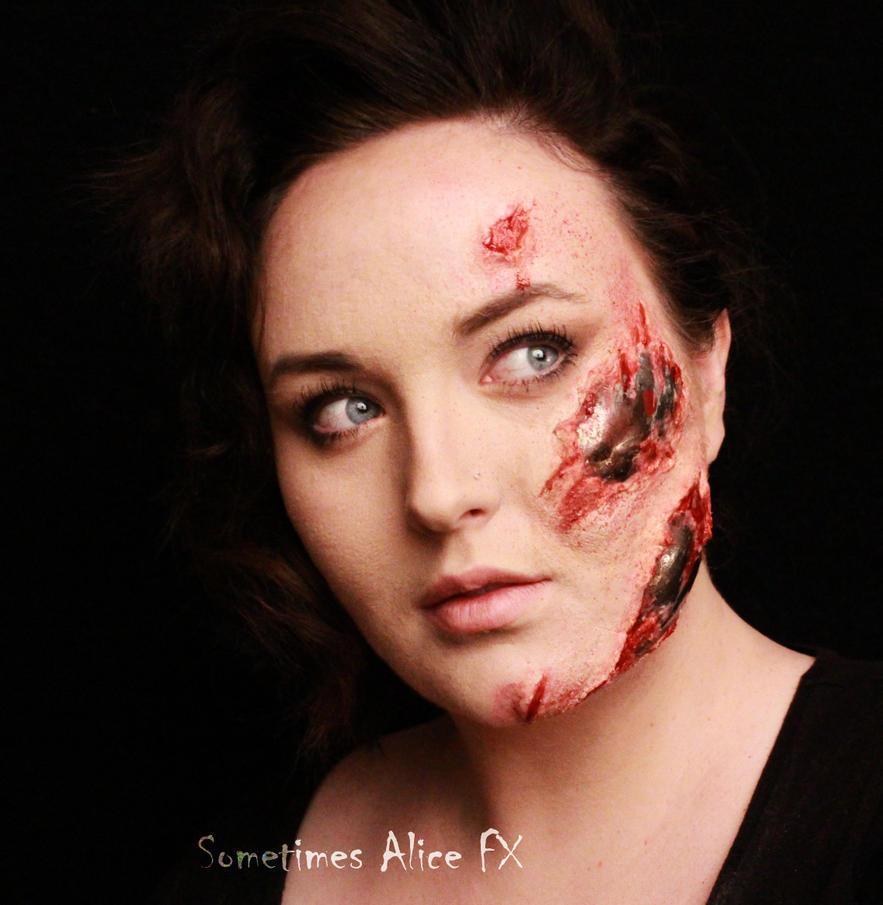 Terminator Make-Up by SometimesAliceFX