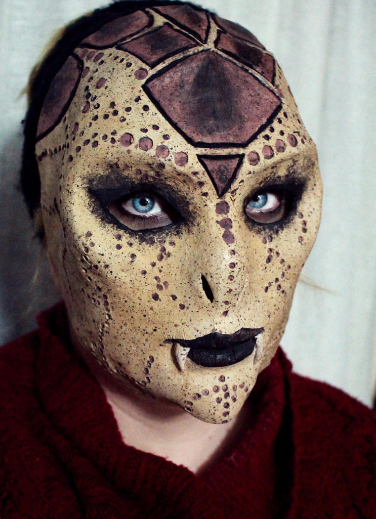 Snake Lady Mask by SometimesAliceFX