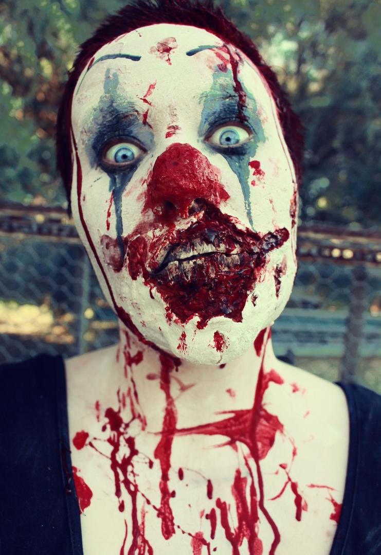 Zombie Clown by SometimesAliceFX