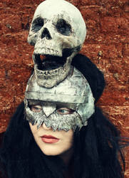 Orc Helmet Mask