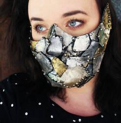 Steam Punk Skull Half Mask