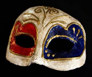 Venetian Paper Mache Masquerade Mask