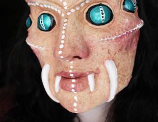 Spider Queen Mask - Fleshtone Version