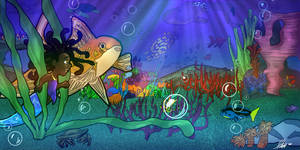 Along the Fish Tank Floor