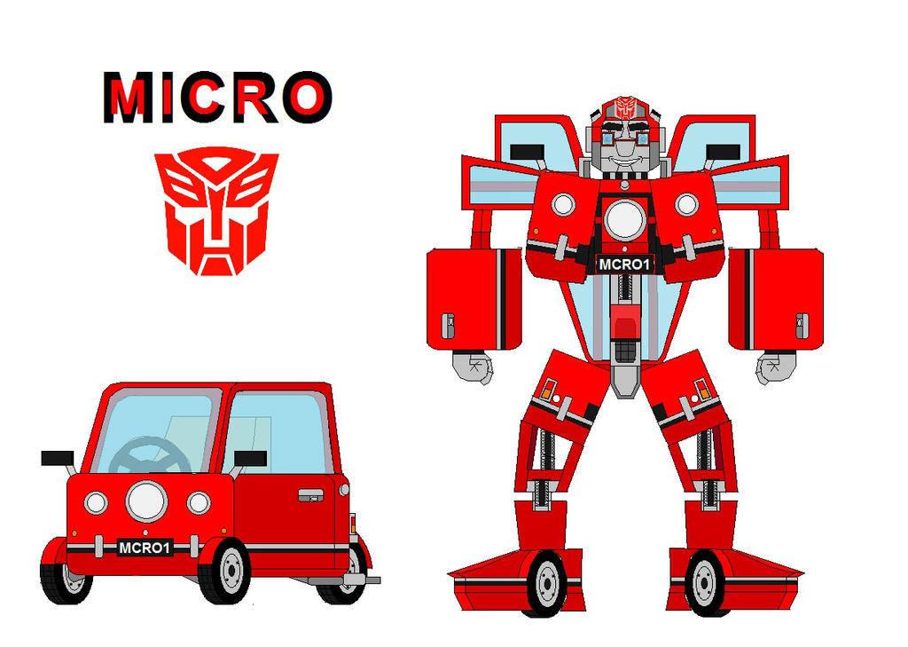 Micro the Peel P50 Autobot by me vk  by Micro-the-Autobot