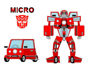 Micro the Peel P50 Autobot by me vk