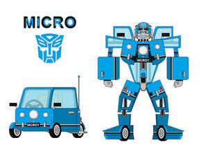 Micro the Peel P50 Autobot 2.0 by me