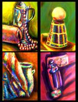 Color Paintings by Tsukihana