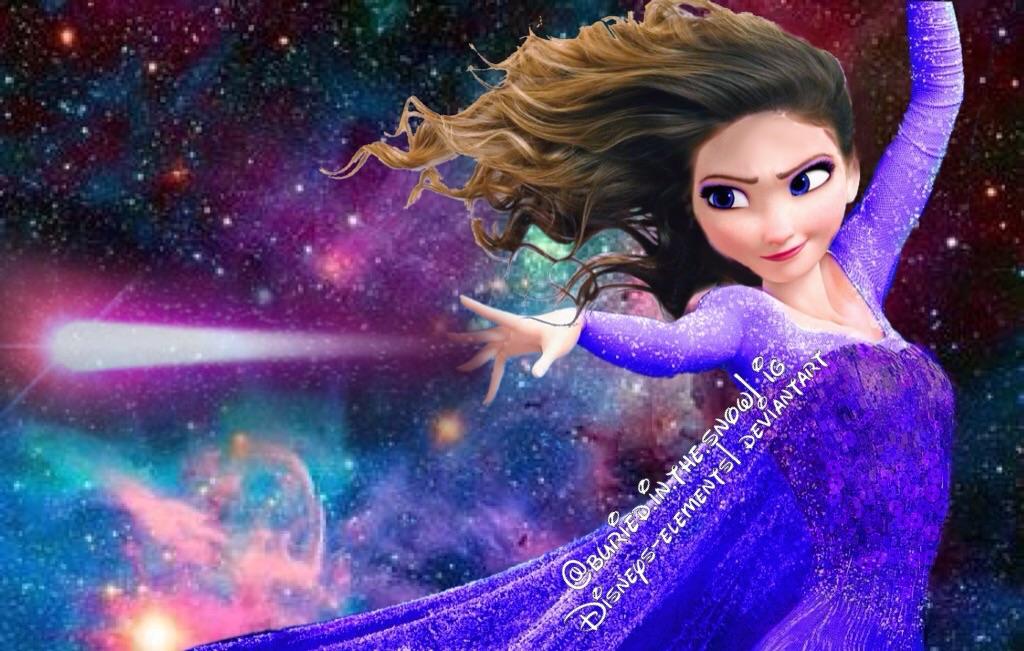 Galaxy Elsa by Disneys-elements on DeviantArt
