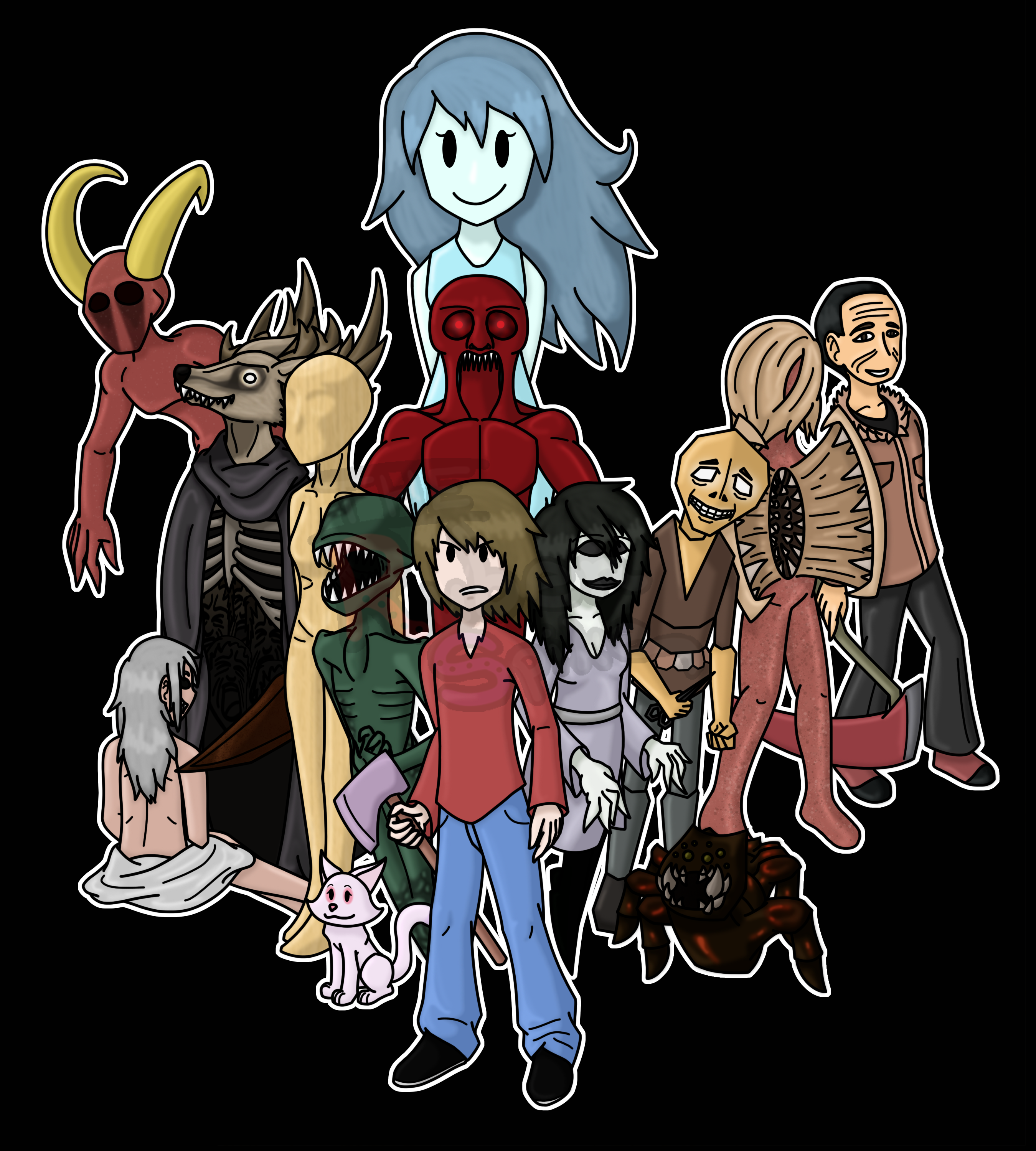 Spooky s house of jumpscares by therubenspike on deviantart