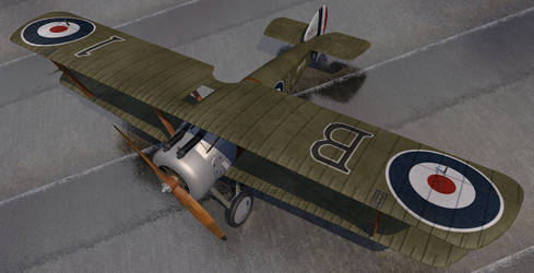 Sopwith Camel by chipbasschaos