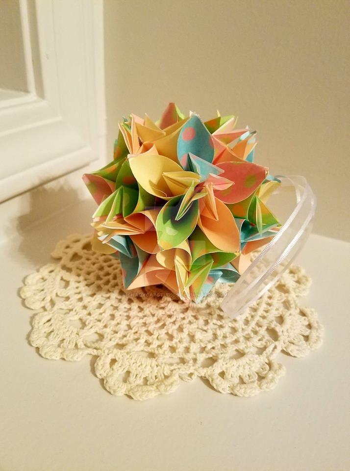 Kusudama origami flower ball 16 by shadycatstudios on deviantart kusudama origami flower ball 16 by shadycatstudios mightylinksfo