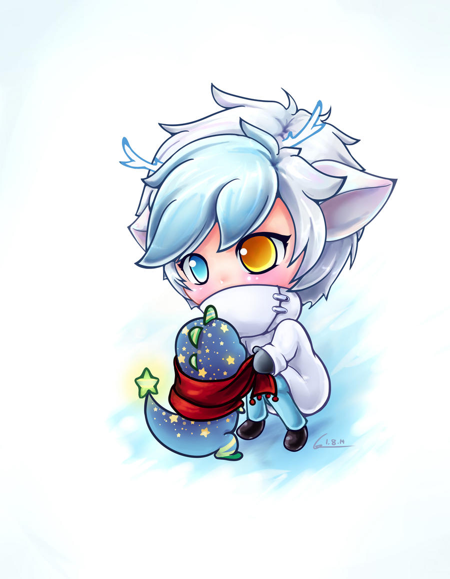 Art Challenge #2: Winter Speedpaint (with video) by meaty-nosebleeds