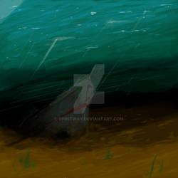 Daily Sketch #9 24-01-2015 - Sunken Ship