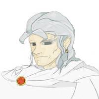 Daily Sketch #12 26-01-2015 - Retro Anime