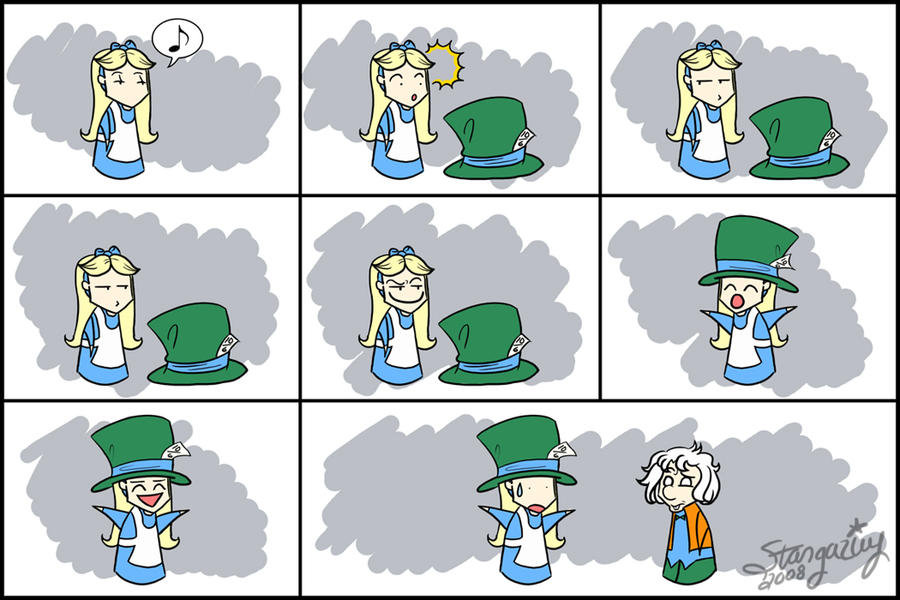 Alice and Hatter - Hat Envy