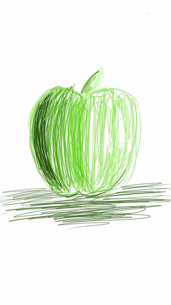 manzana verde :3