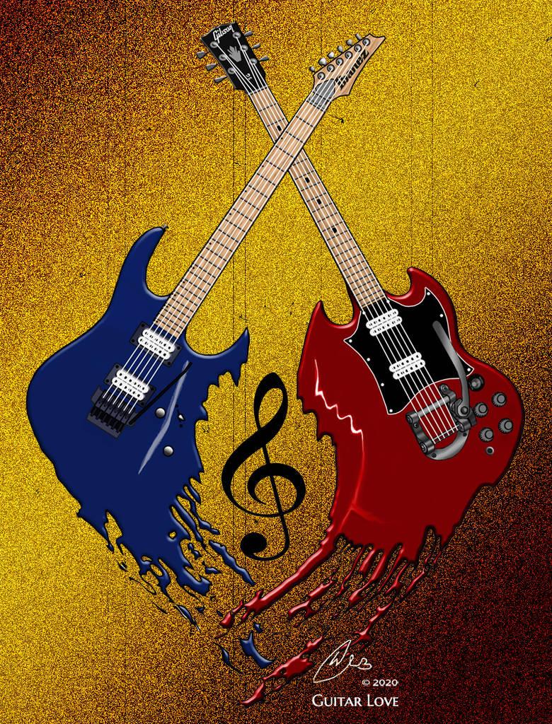 Guitar Love web signed