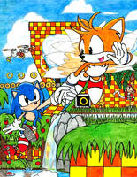 Sonic and Tails by CaribbeanPulse