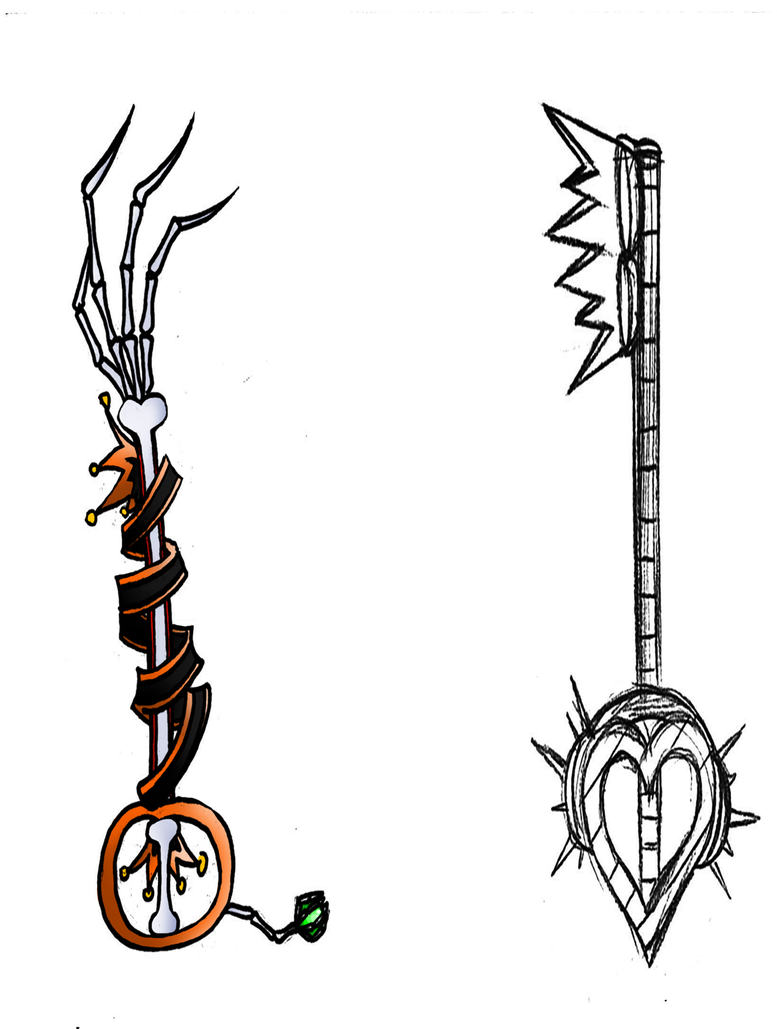 Keyblades by ScaredyAsh006 on DeviantArt