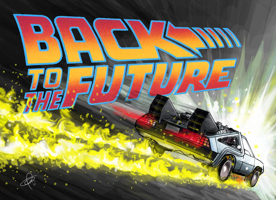 Back to the future by santosart on deviantart