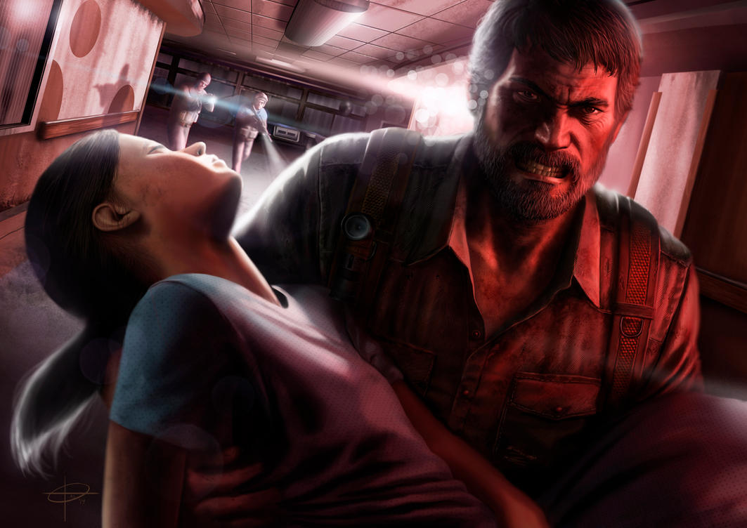 The last of us by SantosArt