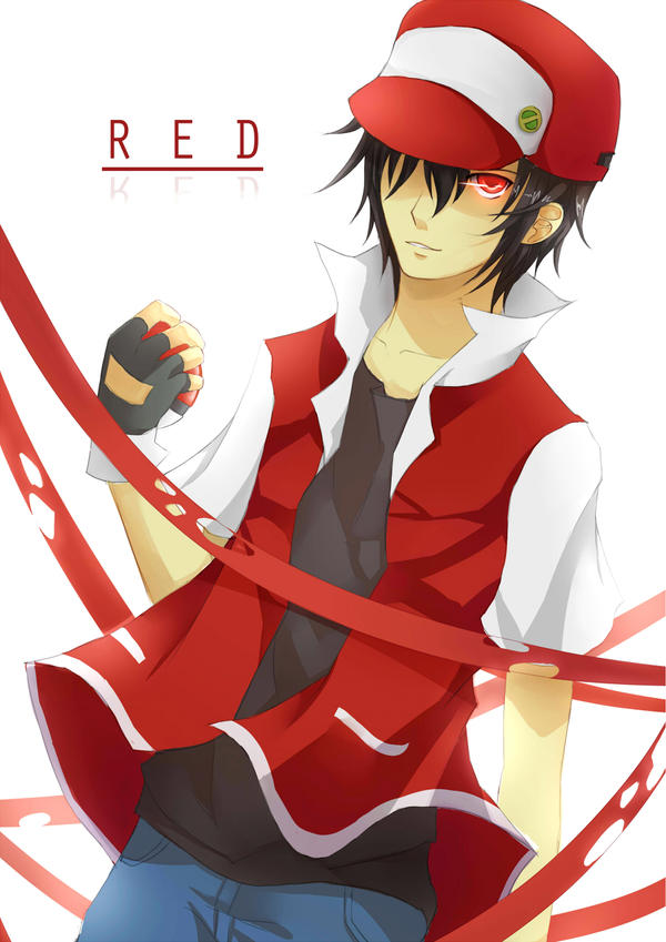 Mangas Héros - Page 9 Pokemon__red_by_mellanthe-d56qtf5