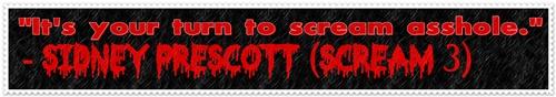 Scream 3 stamp by pervertedmind
