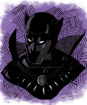 Black Panther Colored