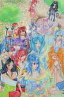 Zanuelle+Artbook by Hane-no-hi