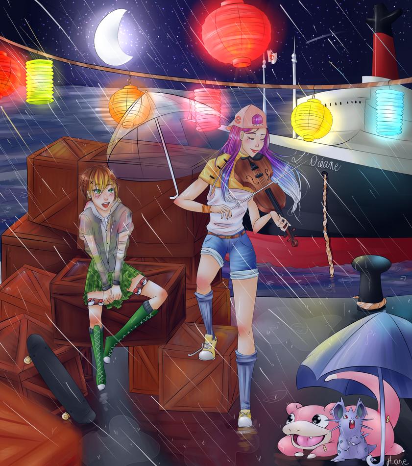 +TP+ Defis Du Mois I'm Singing in the Rain by Hane-no-hi