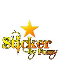 Shiny Star Sticker by Fo33y
