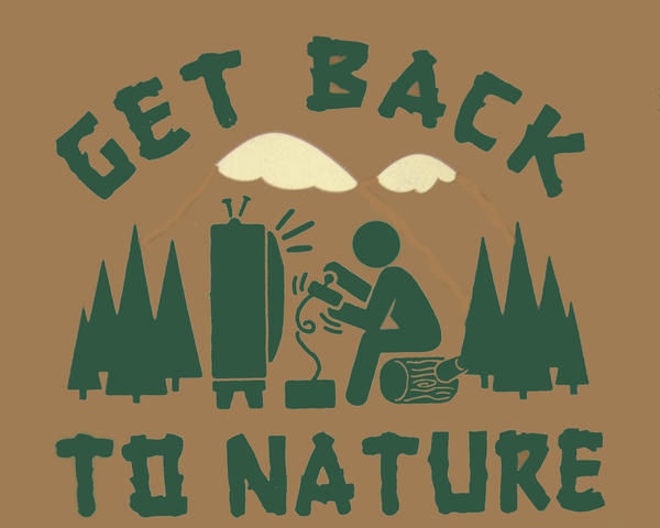Get Back To Nature by donado
