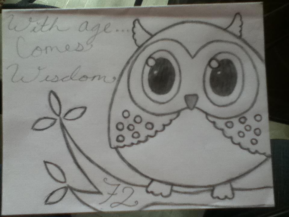 OwlBirthday Card For Grandma by iAreNinjRAWR on DeviantArt – Birthday Cards for Grandmas