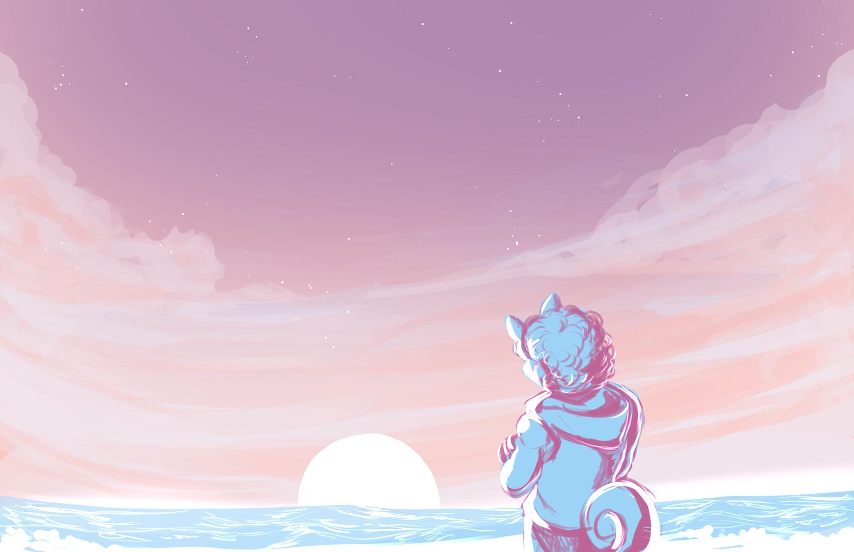 [PKMN Skies]: Sunset