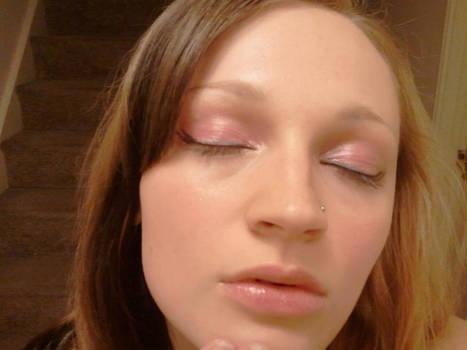 Princess Peach inspired makeup look