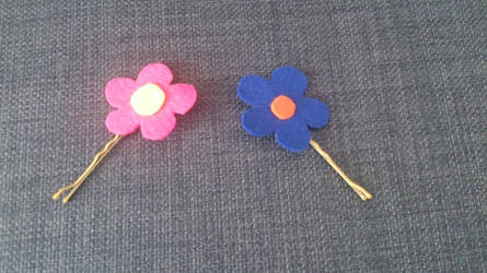 Flower Power Hairpins