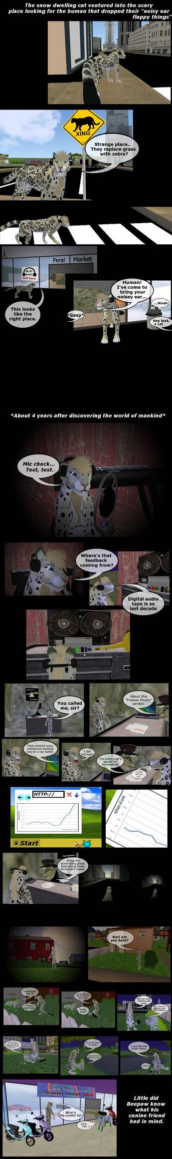 Beepaw the Snowcat Comic page 2
